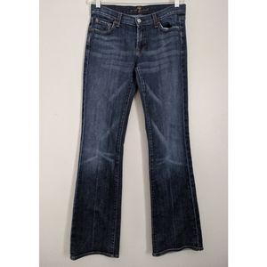 7 For All Mankind Jeans Medium Dark Wash Size 28